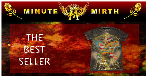 minute mirth banner