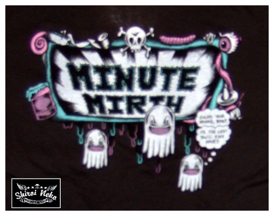 minute mirth t-shirts