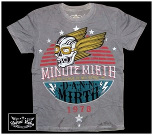 minute mirth tattoo t-shirt