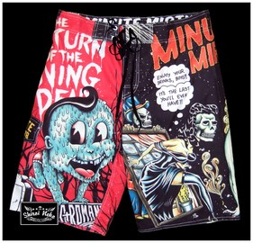 minute mirth surf shorts
